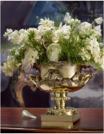 A WILLIAM IV SILVER-GILT WARWICK STYLE BOWL, PAUL STORR FOR STORR & MORTIMER, LONDON, 1830