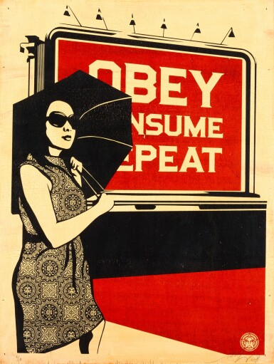 SHEPARD FAIREY | OBEY BILLBOARD CONSUME