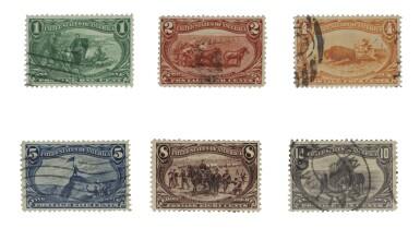 Trans-Mississippi 1898 1c-$1.00 (285-292)