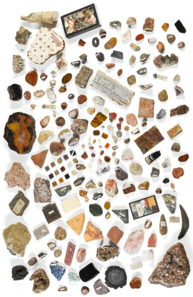 THE BERKELEY COLLECTION OF GEOLOGICAL SPECIMENS AND 'GRAND TOUR' SOUVENIRS, ASSEMBLED IN THE 19TH CENTURY