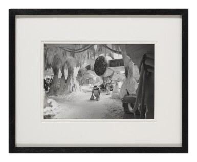 THE EMPIRE STRIKES BACK ORIGINAL PHOTOGRAPH TAKEN DURING FILMING IN 1979/80, US