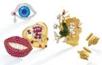 GOLD DRESS SET, ALEMANY & ERTMAN FOR SALVADOR DALÍ   黃金首飾套裝,Alemany & Ertman 為薩爾瓦多・達利製造