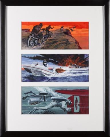 View 2. Thumbnail of Lot 28. The Mechanic (1972), US, Original storyboard artwork .