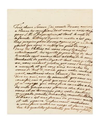 View 3. Thumbnail of Lot 8. JOSEPH II. Réunion de 19 LAS à sa sœur Marie-Caroline de Naples et de Sicile. 9 avril -17 novembre 1768. 32 p..