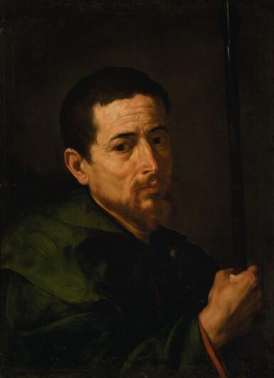 View 1. Thumbnail of Lot 9. JUSEPE DE RIBERA, CALLED LO SPAGNOLETTO | Saint Judas Thaddeus | 胡塞佩・德・里貝拉 - 或稱洛・斯帕尼奧萊托 | 《聖猶達》.