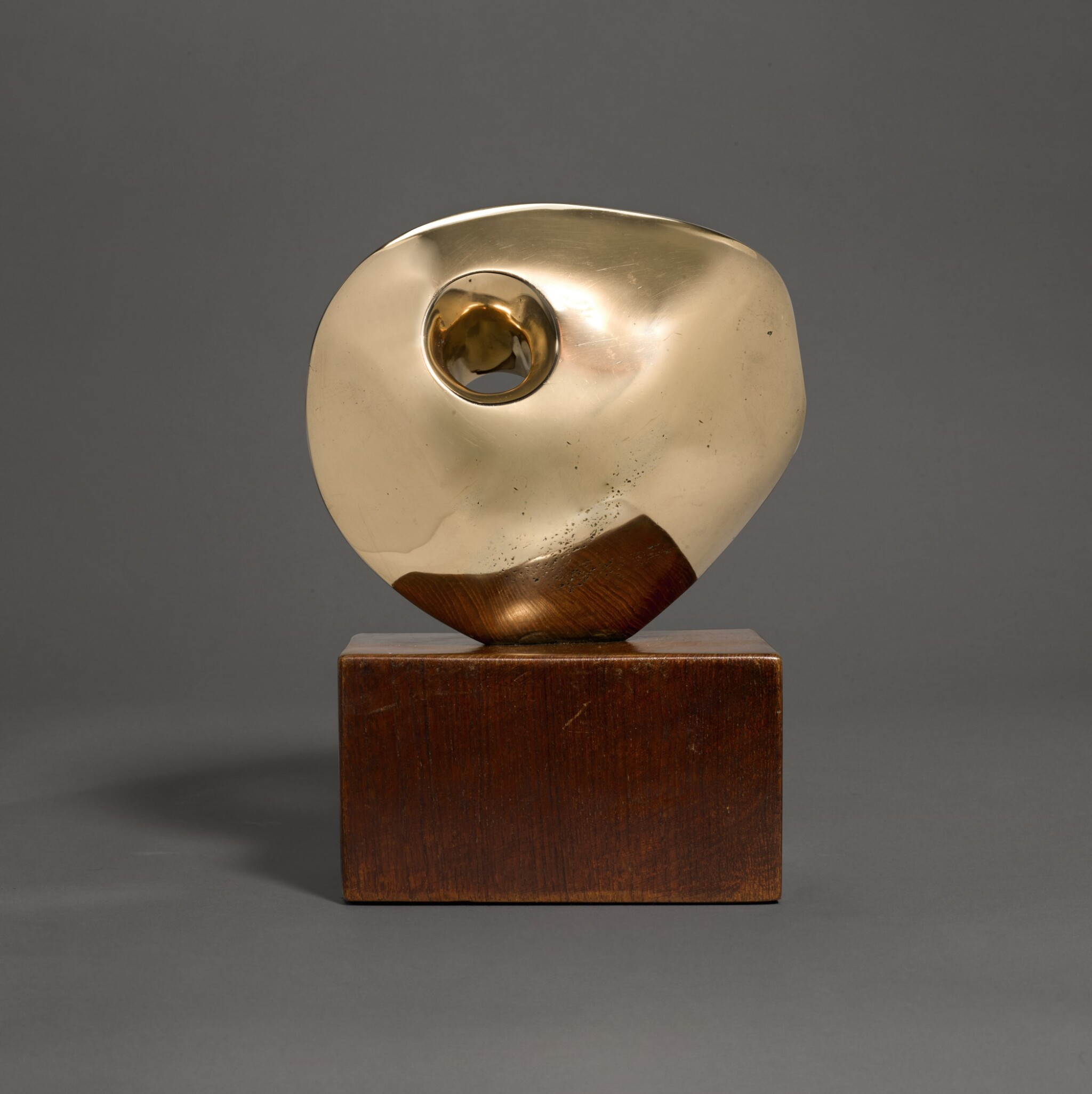 View full screen - View 1 of Lot 602. DAME BARBARA HEPWORTH | PIERCED ROUND FORM.