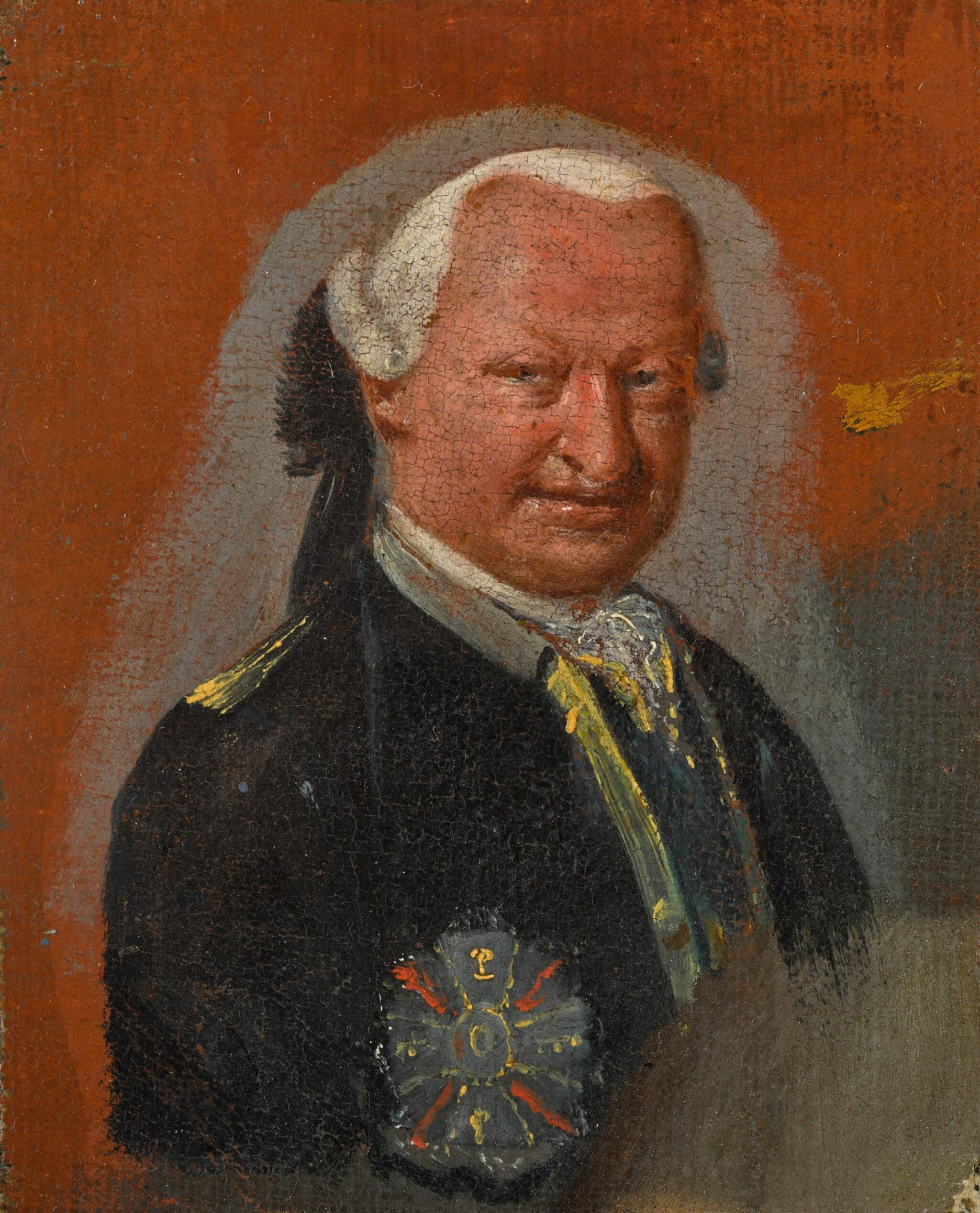 View 1 of Lot 177. Portrait of a dignitary, half-length.
