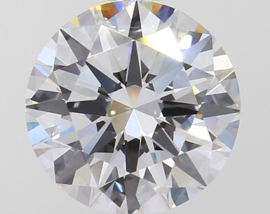 A 1.84 Carat Round Diamond, D Color, VVS1 Clarity