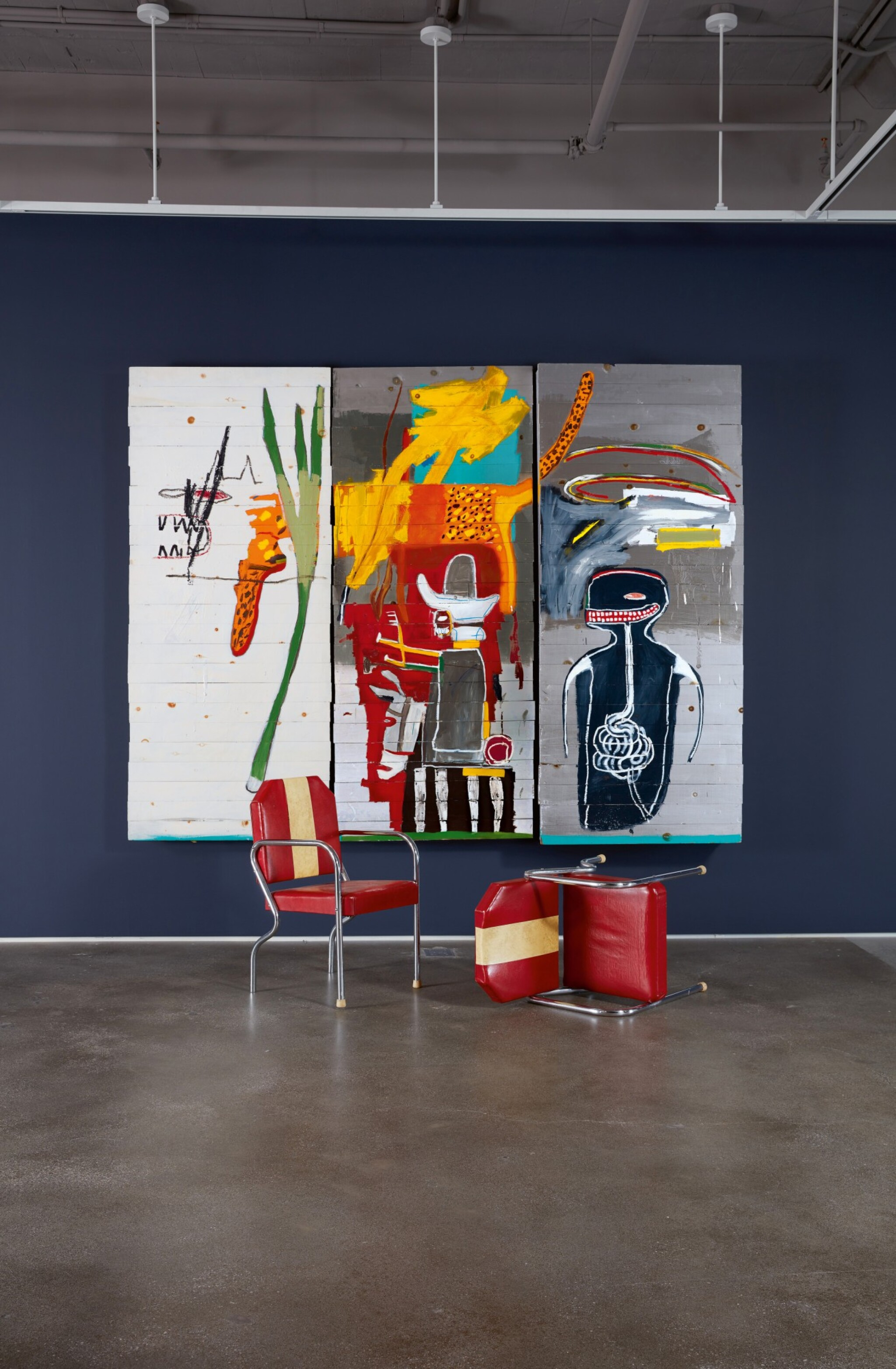 View full screen - View 1 of Lot 15. Jean-Michel Basquiat 尚・米榭・巴斯基亞 | Untitled 無題.