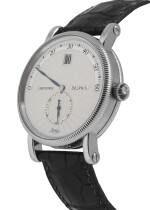 CHRONOSWISS | DELPHIS, REF CH1420 PLATINUM JUMPING HOUR WRISTWATCH  CIRCA 1996
