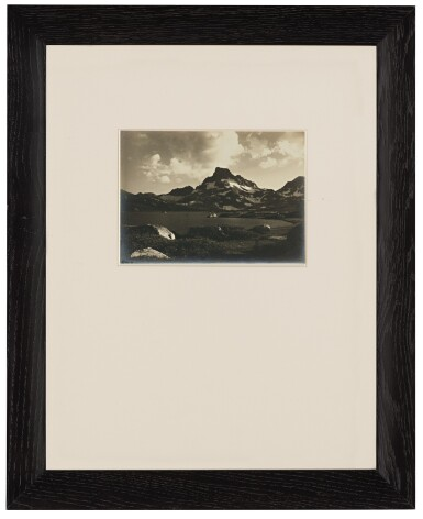View 2. Thumbnail of Lot 79. 'Thousand Island Lake and Banner Peak at Sunset'.