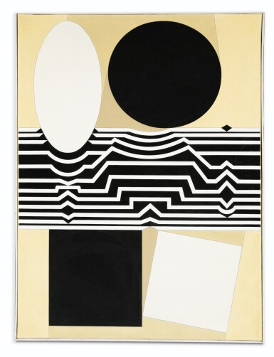 View 1. Thumbnail of Lot 153. VICTOR VASARELY | CRISSA II.