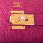 Hermès Tosca Retourne 40cm Kelly of Togo Leather with Gold Hardware