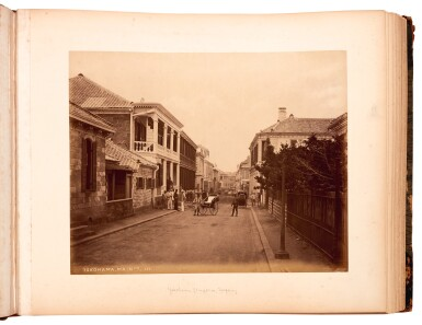 View 5. Thumbnail of Lot 233. Stillfried and Anderson. Album of photographs of Japan. circa 1880.
