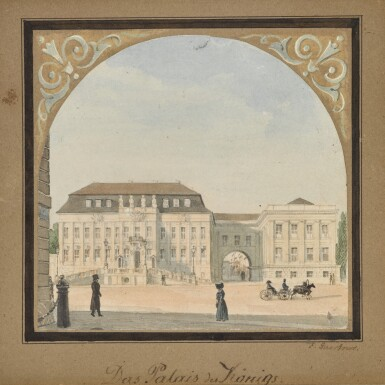 View 1. Thumbnail of Lot 65. Das Palais des Königs (The King's Palace).