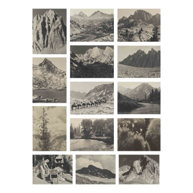 View 3. Thumbnail of Lot 47. The Sierra Club Outing, 1930.