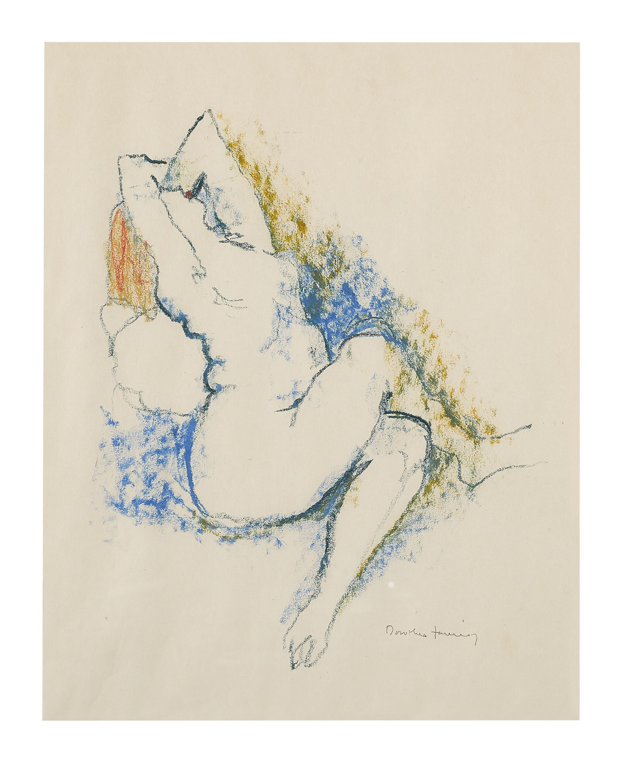 View full screen - View 1 of Lot 21. DOROTHEA TANNING | MAENAD II.