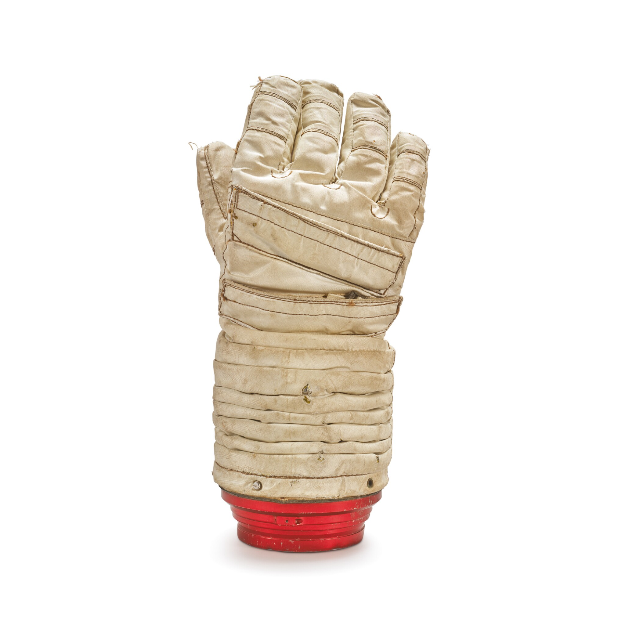 View full screen - View 1 of Lot 13. APOLLO ADVANCED LUNAR EVA PROTOTYPE GLOVE, MADE FOR RUSSELL SCHWEICKART, CA 1966.