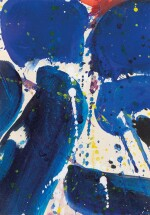 SAM FRANCIS  |  UNTITLED (SF59 - 111) [SANS TITRE (SF59 - 111)]