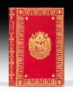 Nouvelles recherches... Paris, 1812. Exemplaire de présent aux armes de Napoléon Ier