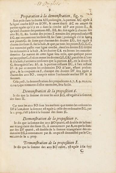 View 5. Thumbnail of Lot 35. Lettres de A. Dettonville ... Paris, 1658-1659. Rarissime édition originale en reliure de l'époque..