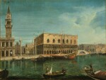 Venice, a view of the Molo from the Bacino di San Marco, with the Palazzo Ducale and the Bucentaur