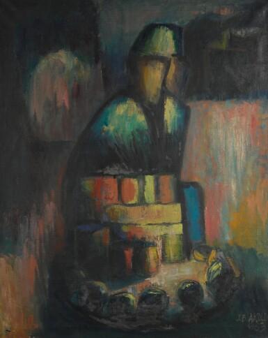 JIMOH AKOLO | SEATED FIGURE