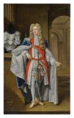 THOMAS GIBSON   PORTRAIT OF THOMAS OSBORNE (1632 - 1712), FIRST DUKE OF LEEDS, LORD DANBY, FULL-LENGTH