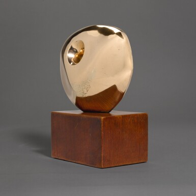View 3. Thumbnail of Lot 602. DAME BARBARA HEPWORTH | PIERCED ROUND FORM.