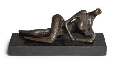 View 1. Thumbnail of Lot 131. Maquette for Reclining Figure.
