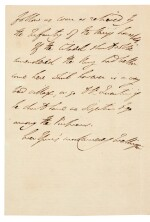 DUKE OF WELLINGTON | autograph letter signed, to Sir Charles Stuart, seven days after Waterloo, 1815