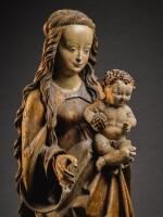CIRCLE OF THE MASTER OF RABENDEN (ACTIVE CIRCA 1500-1530), GERMAN, BAVARIA, CIRCA 1510-1515 | VIRGIN AND CHILD
