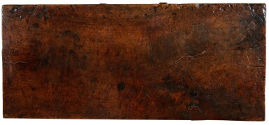 View 3. Thumbnail of Lot 32. A SPANISH CARVED WALNUT SIDE TABLE, 17th CENTURY.