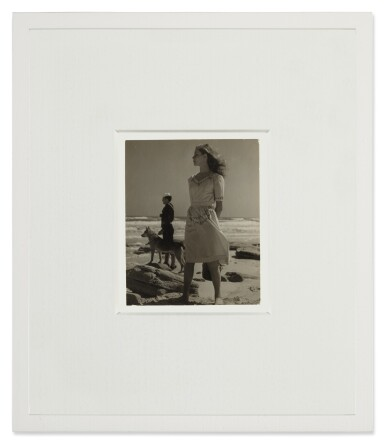 View 2. Thumbnail of Lot 4. LOUISE DAHL-WOLFE | LAUREN BACALL.