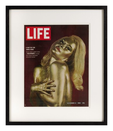 GOLDFINGER (1964) LIFE MAGAZINE COVER, NOV. 6, 1964, US