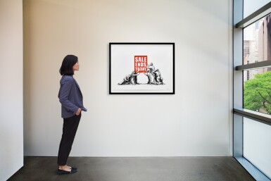 View 3. Thumbnail of Lot 626. Banksy 班克斯 | Sale Ends (V.2) 銷售結束 (V.2).