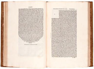 View 1. Thumbnail of Lot 2. Herodotus. Libri novem. Aldus, Venice, 1502. nineteenth-century calf gilt.
