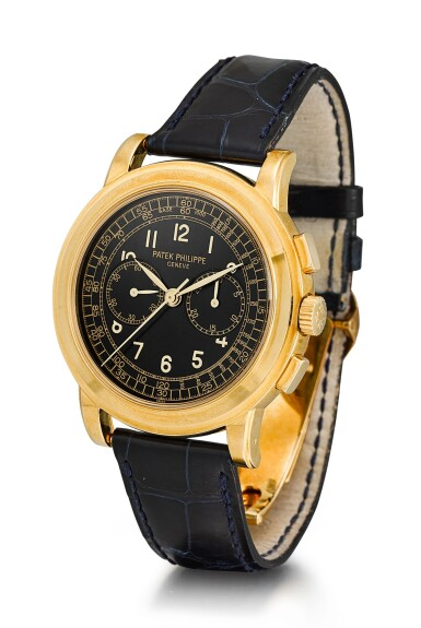View 2. Thumbnail of Lot 161. PATEK PHILIPPE | REFERENCE 5070,  A YELLOW GOLD CHRONOGRAPH WRISTWATCH, CIRCA 1999.
