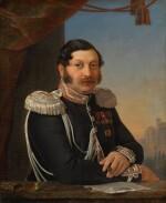 PIMEN NIKITICH ORLOV | PORTRAIT OF FEDOR CHERNYSHEV