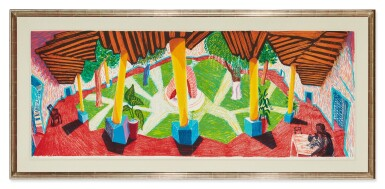View 2. Thumbnail of Lot 41. DAVID HOCKNEY | HOTEL ACATLÁN: TWO WEEKS LATER (MUSEUM OF CONTEMPORARY ART, TOKYO 271).