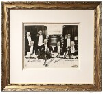 [Winston Churchill, and Edward, Prince of Wales] | Vintage black and white photograph, signed by Churchill and Edward, Prince of Wales, 1925