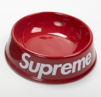 View 1. Thumbnail of Lot 78. SUPREME DOG BOWL RED.