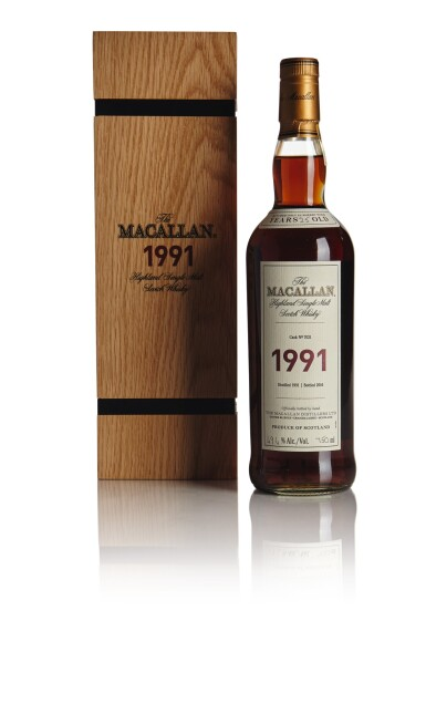 THE MACALLAN FINE & RARE 25 YEAR OLD 49.4 ABV 1991