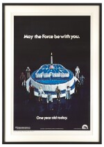 "STAR WARS ""HAPPY BIRTHDAY"" POSTER,  US, 1978"
