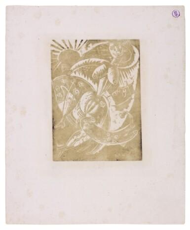 View 8. Thumbnail of Lot 60. Neun Holzschnitte (K. 23-31) (Nine woodcuts (K. 23-31)) .