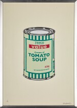 BANKSY | SOUP CAN (GREEN)