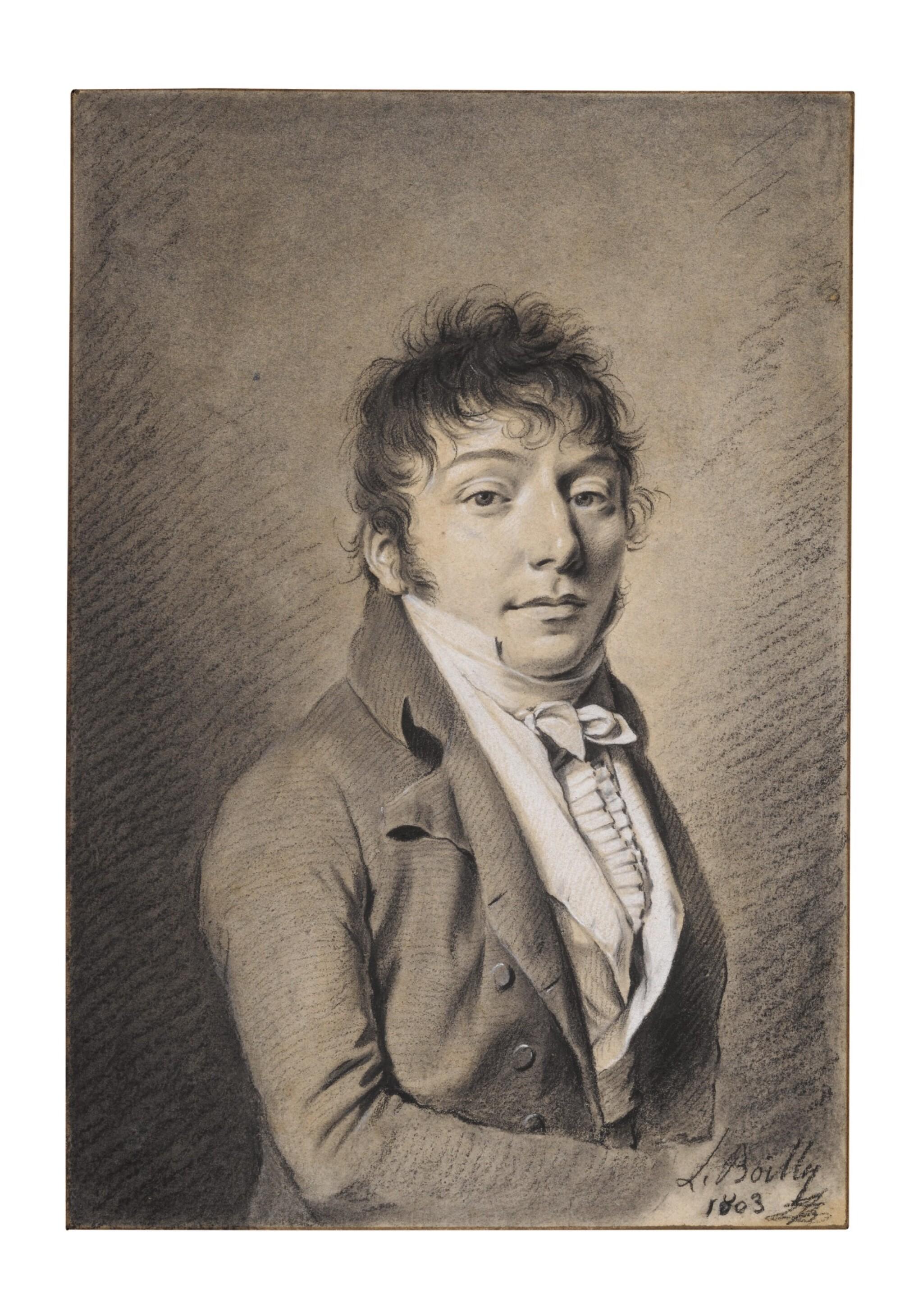 View full screen - View 1 of Lot 79. Portrait of Aimé-Jacques-Marie-Constant de Moreton de Chabrillan.