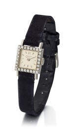 PATEK PHILIPPE   REFERENCE 3293/2, A PLATINUM AND DIAMOND-SET WRISTWATCH, MADE IN 1964
