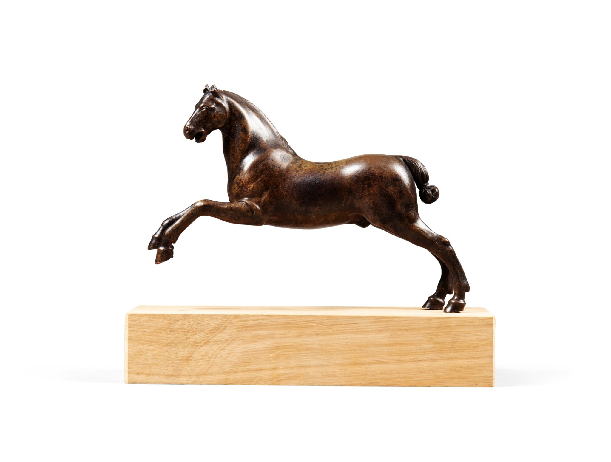 View 1 of Lot 214. LEAPING HORSE |  CHEVAL CABRÉ.