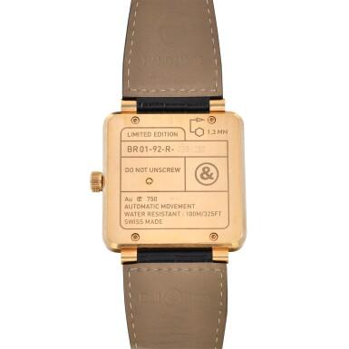 View 3. Thumbnail of Lot 9315. Bell & Ross | Gold Ingot, Reference BR01-92-R, A limited edition pink gold wristwatch, Circa 2015 | Gold Ingot 型號BR01-92-R   限量版粉紅金腕錶,約2015年製.